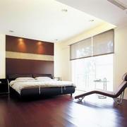 大户型的简约卧室