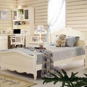 优雅气质的卧室床图片