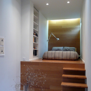 地台卧室楼梯展示