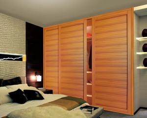 大户型质地优美的都市实木衣柜设计图大全