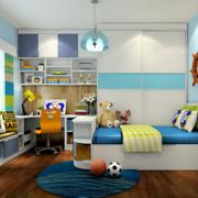 三室两厅卧室实木地板