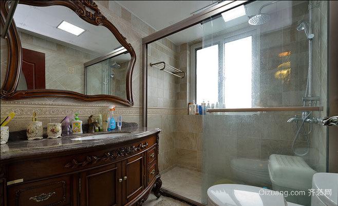 小别墅简欧风格精美奢华卫生间装修效果图