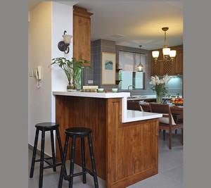 碧玉天成的中式风格吧台设计装修图片大全