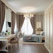 现代欧式风格的别墅