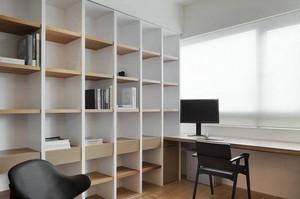 布局简洁的日式风格书房设计装修图片大全