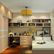公寓卧室床头柜
