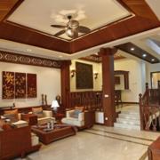 中式风格的客厅装饰