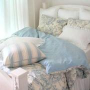 散发清新味道的卧室
