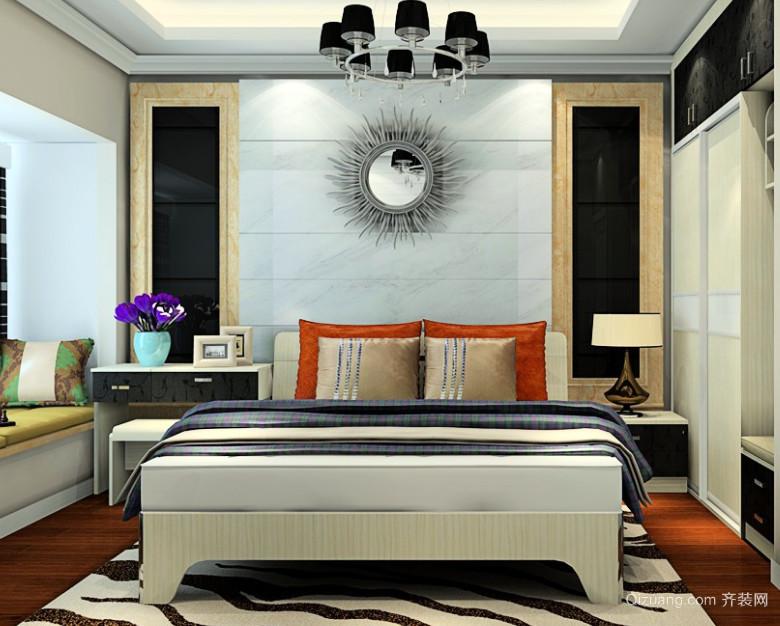 30平米时尚米兰风家居主卧室装修效果图