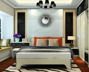 家居卧室背景墙展示