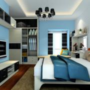 家居卧室置物柜欣赏