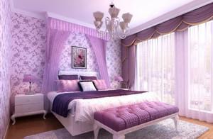 141平米中式婚房布置图片装修效果图