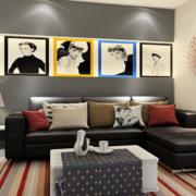 客厅装饰画展示