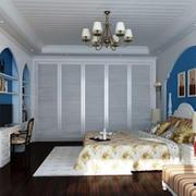 卧室白色大衣柜图片