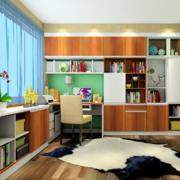 书房漂亮的地毯欣赏