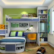 三室两厅卧室整体床展示