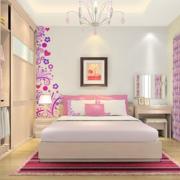 女生公寓卧室甜美装潢