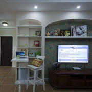 客厅组合电视柜吧台