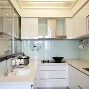 厨房不锈钢橱柜图