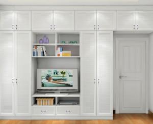 清新韩式田园卧室电视柜与装饰柜装修效果图