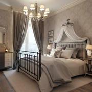 别墅舒适卧室床欣赏
