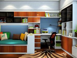 书房整体书柜图片