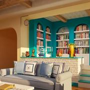 书房吧台装饰展示
