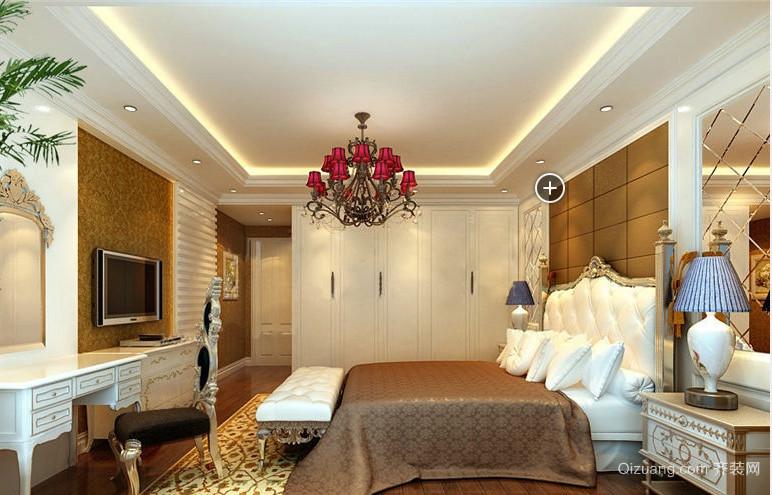120平米新古典洋房小卧室装修效果图