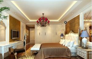 120平米家居奢华卧室