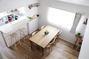 30平米正中原味日式家庭小餐厅装修效果图