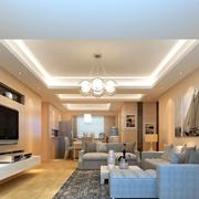 现代简约式的客厅