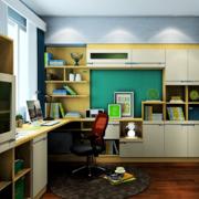 学习工作的书房