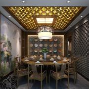 中式火锅店包间装饰