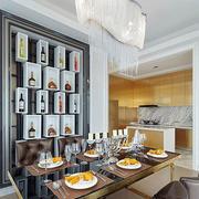 大户型人家餐厅图片