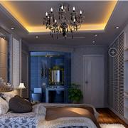 现代化的别墅卧室