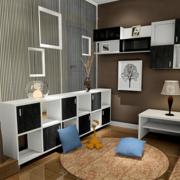 客厅设计巧妙的置物柜