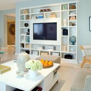 客厅组合电视柜欣赏