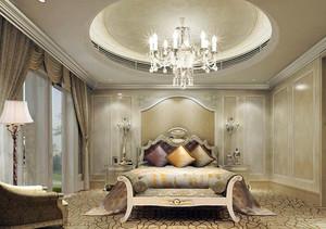 欧式大气的卧室吊顶