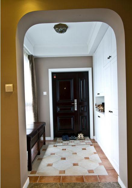 璀璨十足的大户型玄关地板砖装修 效果图大全