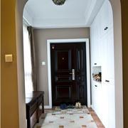 现代化的玄关地板