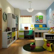 儿童房双层床展示