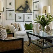 清新自然的客厅装饰