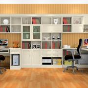 书房书桌布置图