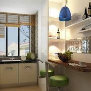 厨房简约的吧台
