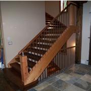 实木阁楼楼梯图片