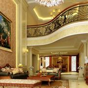 复式楼客厅装饰画