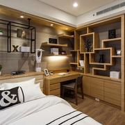 卧室书房一体化装潢