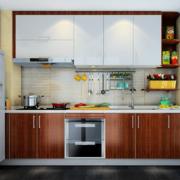 厨房素雅的精致橱柜