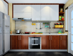 苏格兰时光小户型厨房装修效果图