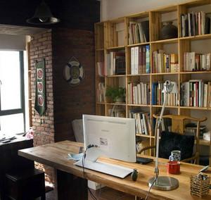 二居室富有灵感的都市小书房装修效果图